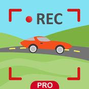 保存驱动高清摄像机临 - GPS dashcam。 2