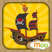 海盗-儿童益智游戏, 拼图, 创意贴纸 1.1
