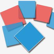红蓝大战 - 别踩错颜色块儿了经典街机禅三种有趣玩法的游戏!