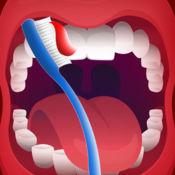 牙齿刷牙齿清洁队:牙医诊所牙腔战斗 - 免费版 1