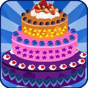 美味的蛋糕做装饰面包物语烹饪游戏的女孩 1