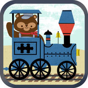 儿童火车游戏:动物园铁路汽车拼图 1.1
