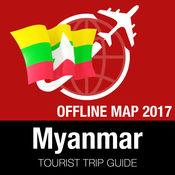 缅甸 旅游指南+离线地图 1.8