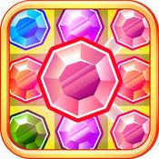 宝石探秘 - 最佳匹配3游戏 1