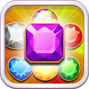 宝石世界粉碎 - 比赛3益智游戏 1