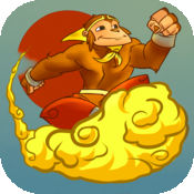 神奇的猴子 Vs 神巨人-飞行传奇游戏的原始 1