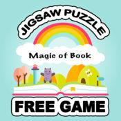 神奇的书拼图自由的孩子艺术表 1