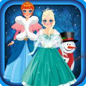 神奇的雪之女王冰公主时尚城堡游戏 - 免费女孩版 1