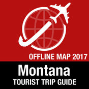 蒙大拿州 旅游指南+离线地图 1