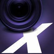 Camcorder X - 专业视频相机用手动对焦。拍摄时拍摄 1.2.4