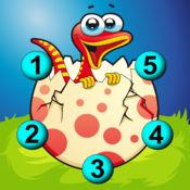 恐龙连线HD - 为幼儿和学前儿童而设的点到点儿童游戏 1.3
