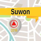Suwon 离线地图导航和指南 1