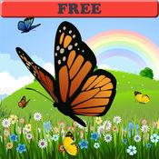 图画书:蝴蝶!着色页为幼儿序 1.0.3