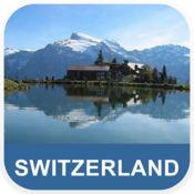 瑞士 离线地图 - PLACE STARS v1.1