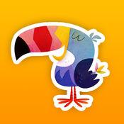 爱画画-教你画鸟-免费版 2