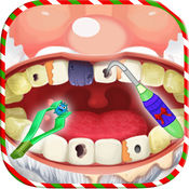 圣诞节牙医 - 圣诞老人的牙医办公室 1