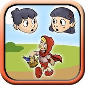 小红帽经典童话故事书  - 宝宝儿童与小朋友互动小游戏 3