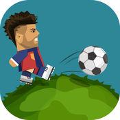 圆形的足球-围绕世界足球游戏 1