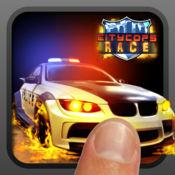 市警察赛,赛车分心警方 - City Cops Race, Fun Police Raci