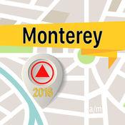 蒙特雷 离线地图导航和指南 1