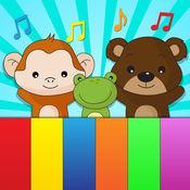 动物的叫声孩子的钢琴应用程序 1.1
