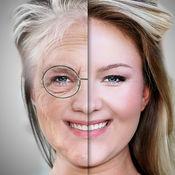 看老面部变化展位老年照片 1