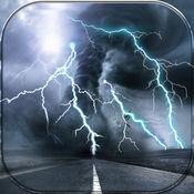 雷雨 桌面壁纸 -  凉 闪电 锁屏 和 黑暗 背景 设计 1