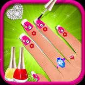 美甲扮靓沙龙2-Princess美甲SPA和美容沙龙游戏为孩子,青少
