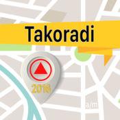 Takoradi 离线地图导航和指南 1
