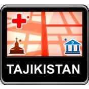 塔吉克斯坦 矢量...