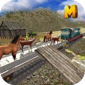 动物运输火车模拟器3D 2.1