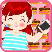 爱莎减肥偷懒小游戏 1