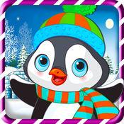 动物冬季扮靓 - 趣味化妆儿童游戏 1