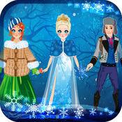 我自己的虚拟世界雪域公主装扮故事书 - 广告免费应用程序