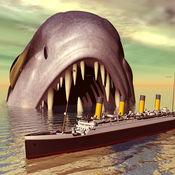 巨型鲨鱼直升机风暴 - 一个致命的深海白鲨猎人 1