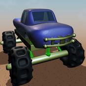 巨型怪物卡车赛车的冒险 - 3d单机游戏手机摩托车暴力摩托