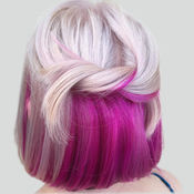换色的头发,头发的颜色、 发型改造 1.1