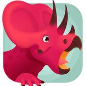 侏罗纪总动员 - 三角龙探索恐龙世界儿童游戏 1.0.1