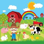 动物农场填色书游戏 1