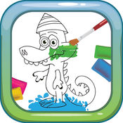 My Favor Coloring Book Games Free For Kids & Toddlers: