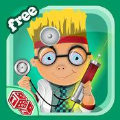 我的小医生 - 儿童患者治疗中的实医生的工具和医院护理