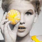 色彩 效果 照片 展台: 改变颜色 黑色和白色 同 灰 摄像头