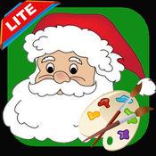 颜色圣诞老人:圣诞着色书页有趣的儿童教育孩子的游戏 1.0.3