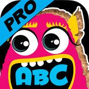 亏得字母和字母怪物拼图 为幼儿园和学龄前儿童而设的Pro