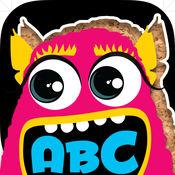亏得字母和字母怪物拼图 为幼儿园和学龄前儿童而设的拼图
