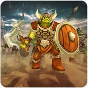 兽人战斗模拟器 - 在史诗般的策略游戏中命令终极战斗 1.0.