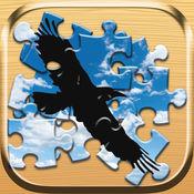 小鸟拼图免费 - 为孩子和幼儿益智游戏训练你的大脑 1