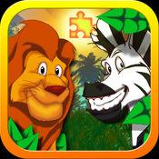 JigSaw Zoo Animal Puzzles(动物园动物拼图游戏)-专为孩子们