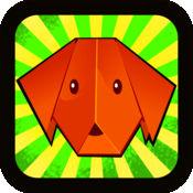 顶级的折纸狗的世界游戏 免费 1.1