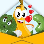 食品 和 饮料 贴纸 为 有趣 免费 iMessage 1